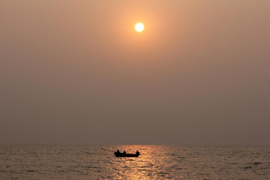 Sunset at Velneshwar