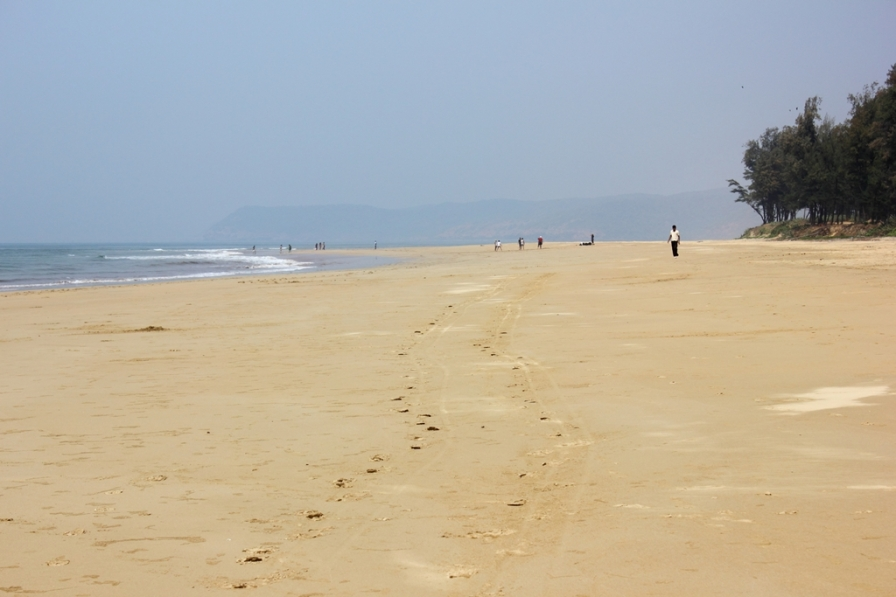 Vast Expanse of Guhagar Beach