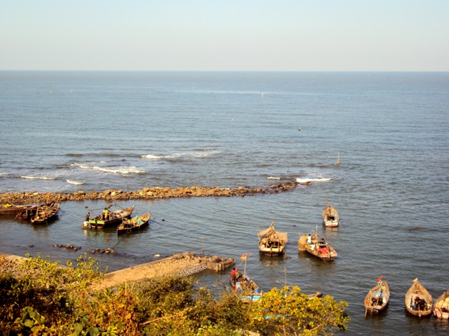 Jetty at Shekhadi Village