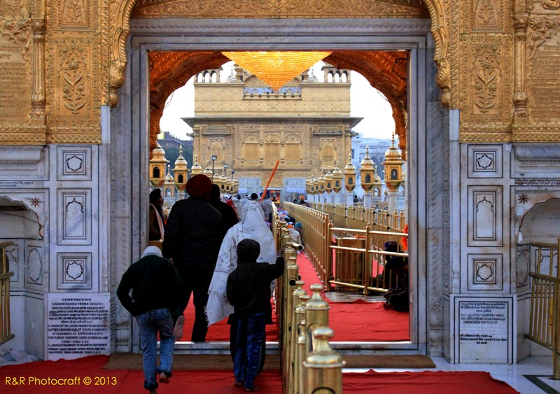 Harmandir Sahib Entrance