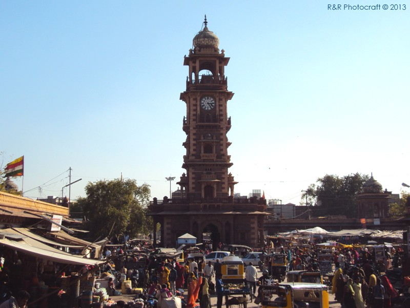 Clock Tower and Market