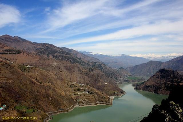 Chamera Dam Reservoir