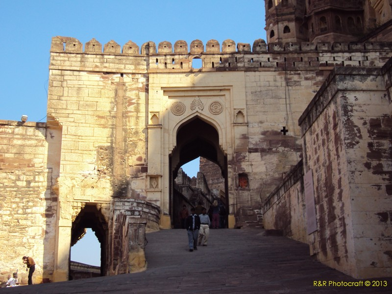 Darwaja inside Mehrangarh Fort