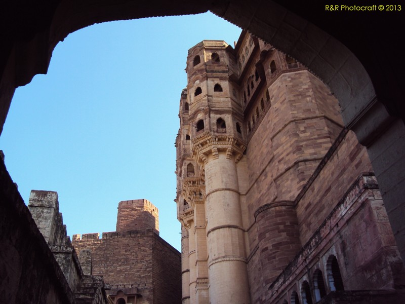 Palace of Mehrangarh Fort