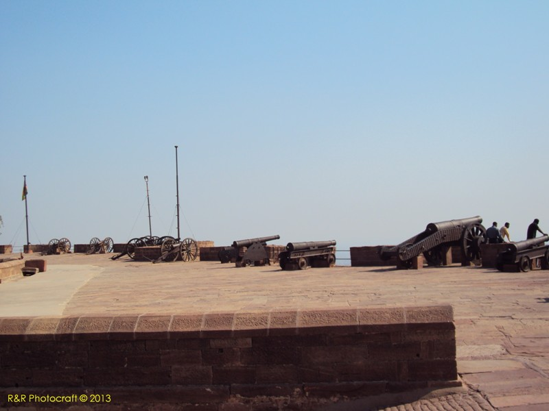 Guns of Mehrangarh