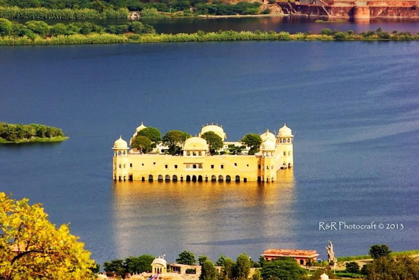 Jal Mahal Closeup