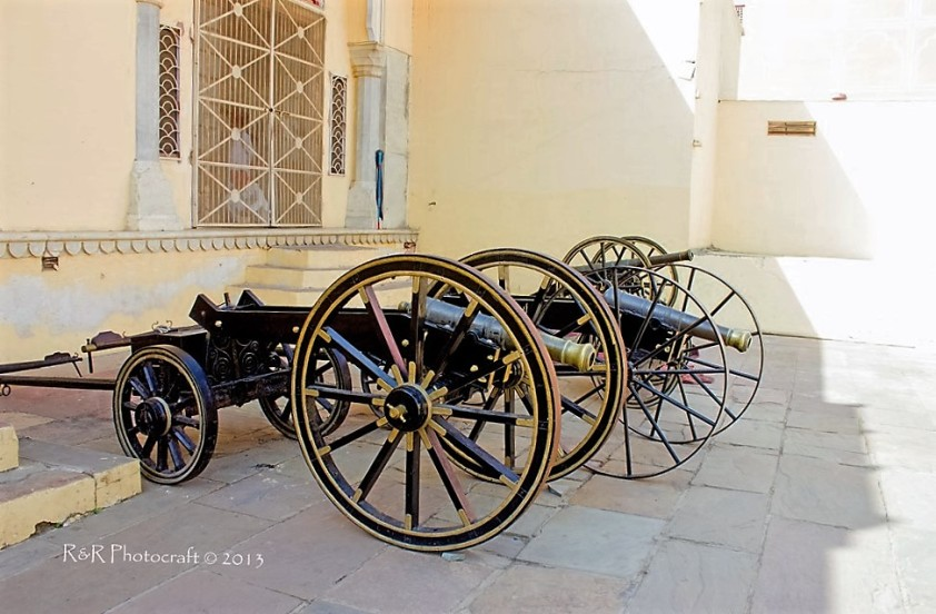 Canons in City Palace