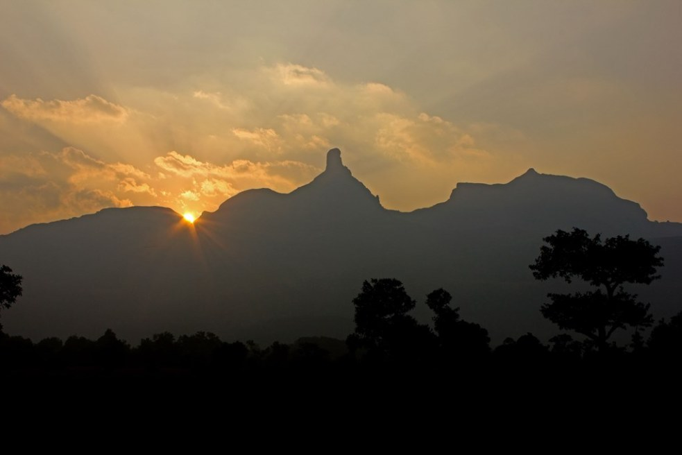 Sunrise over Ratangad