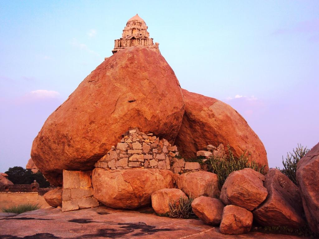 Boulder Temple on Malyavanta Hill