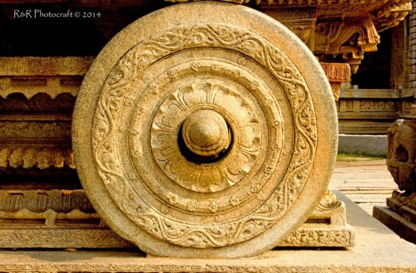 Stone Chariot Wheel