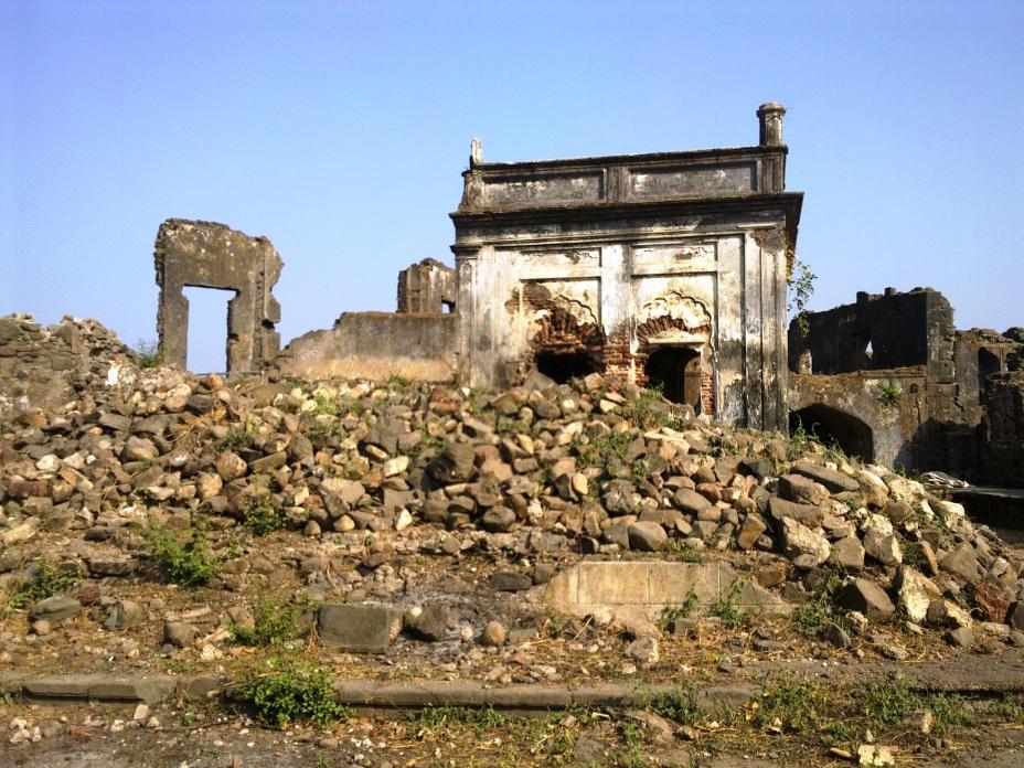 Vestiges of Sheesh Mahal