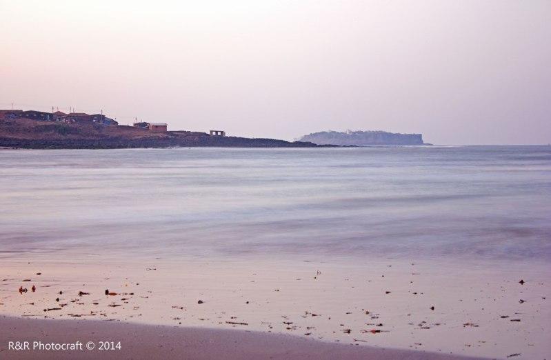 Morning sea at Anjarle