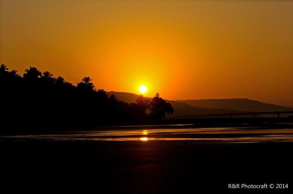 Sunrise at Anjarle