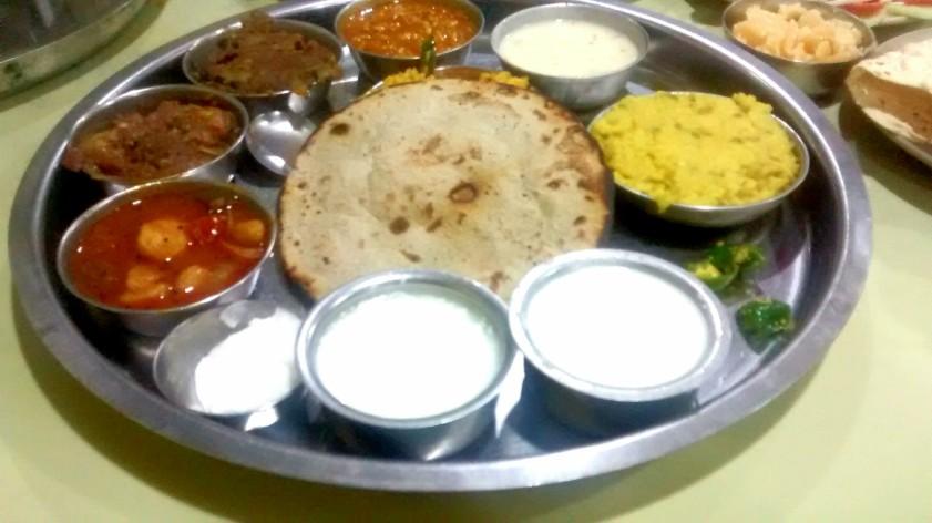 Kutchi Thali Meal