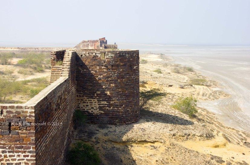White Rann from Lakhpat Fort