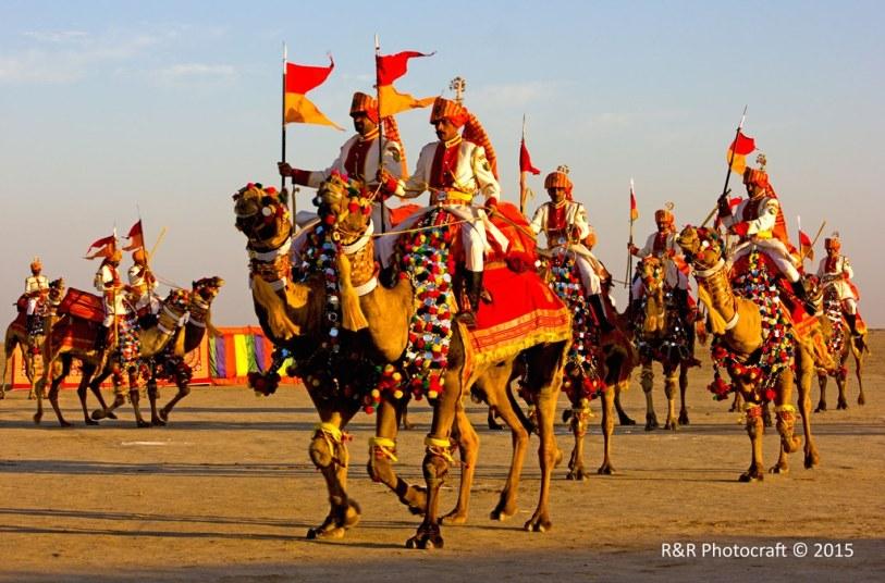 Camel Show, BSF, 136 BN, BOP Dhordo