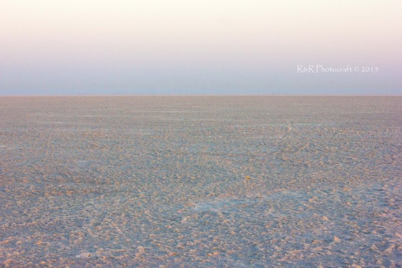 Sunrise in the White Rann