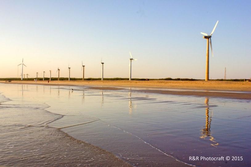 Wind Farm Beach, Mandvi