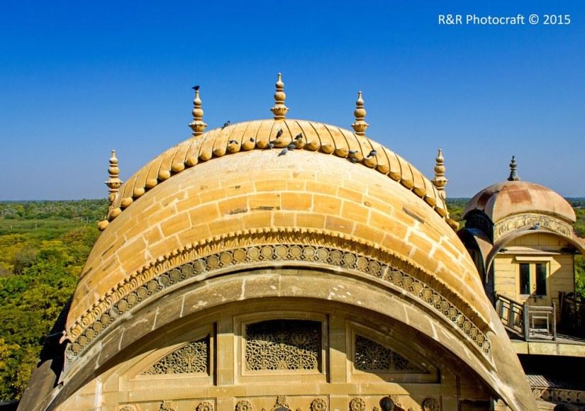 Dome of Vijay Vilas Palace