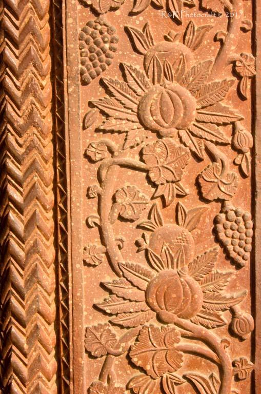 Sandstone carving .. Fatehpur Sikri