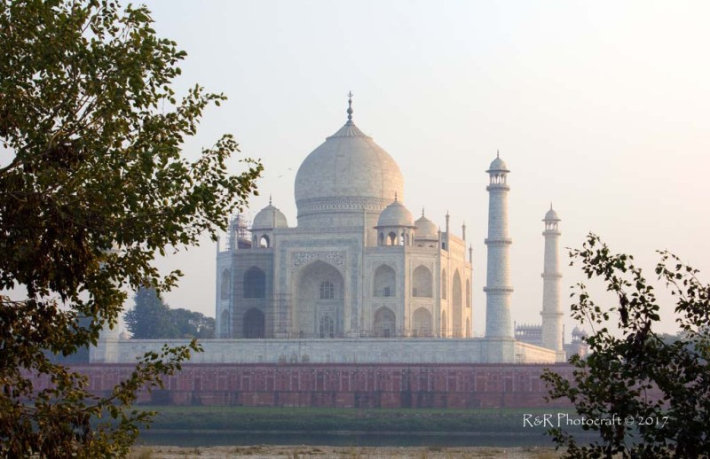 Taj View from Mehtab Bagh