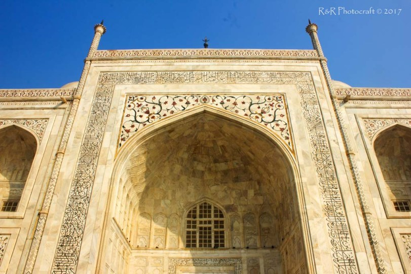 Grand Entrance - Taj Mahal
