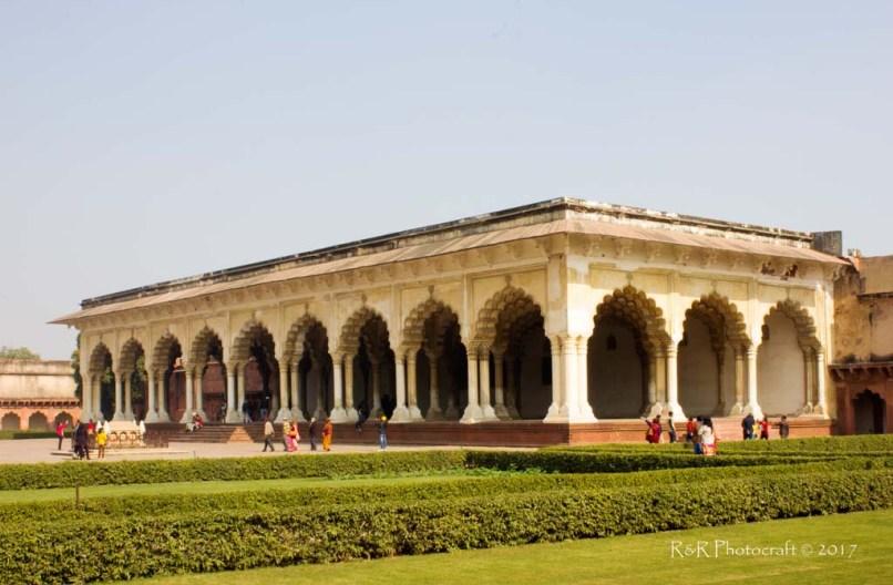 Diwan-e-Aam, Agra Fort