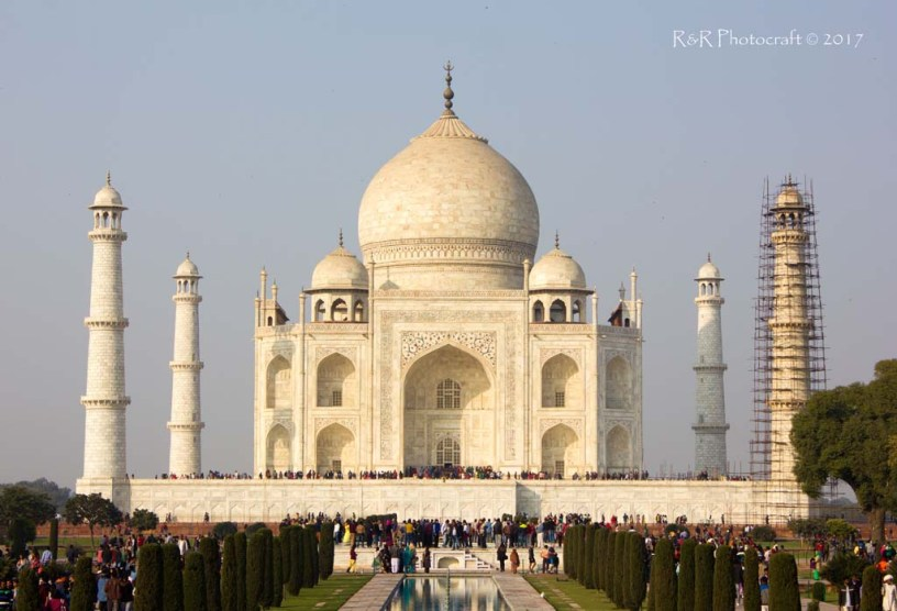 Close Up of the Taj Mahal