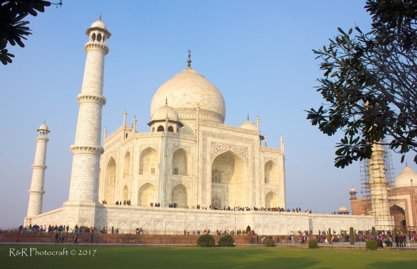 Dream in Marble .. the Taj Mahal